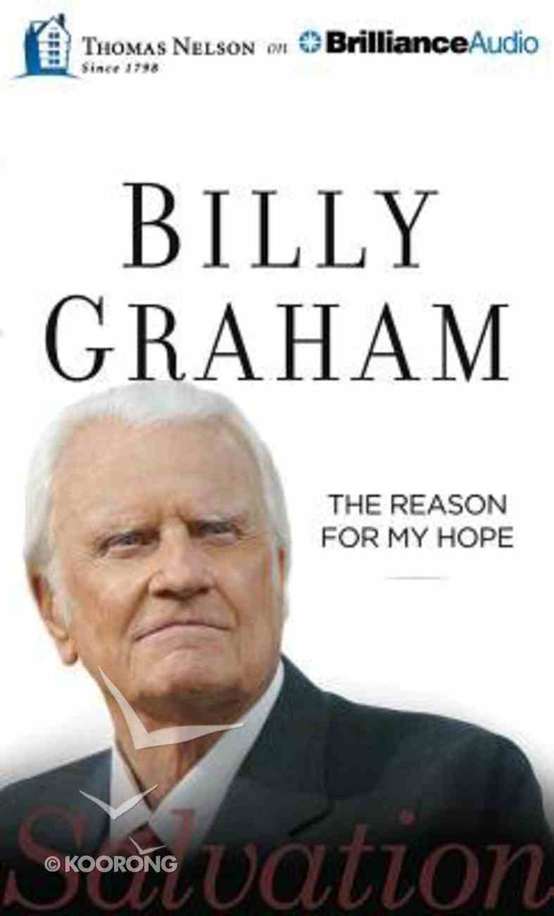 The Reason For My Hope (Unabridged, 6 Cds) CD