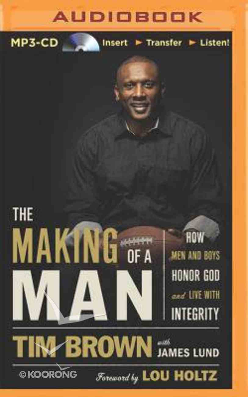 The Making of a Man (Unabridged, Mp3) CD