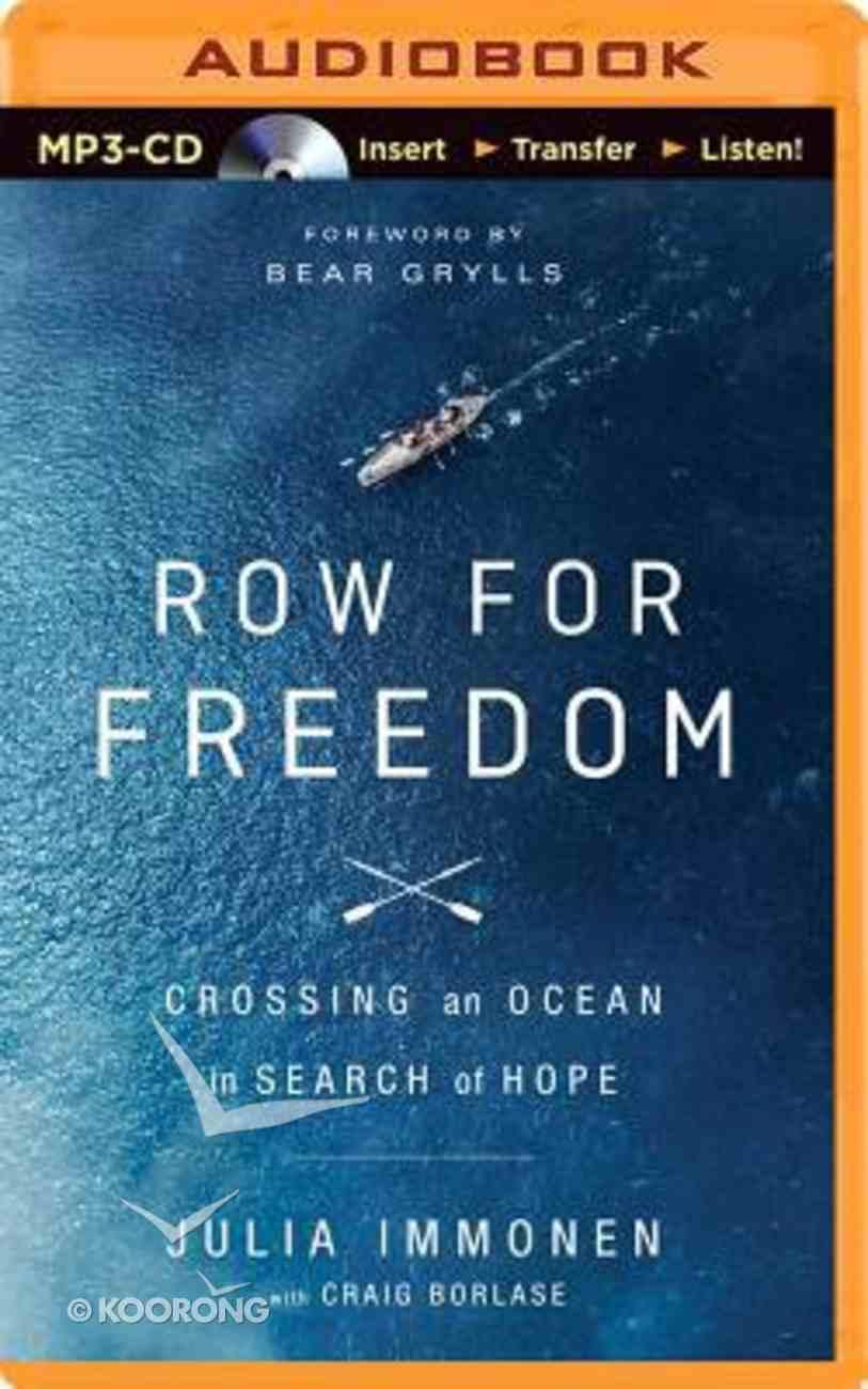 Row For Freedom (Unabridged, Mp3) CD