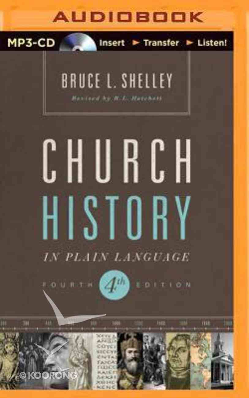 Church History in Plain Language (Unabridged, Mp3) CD