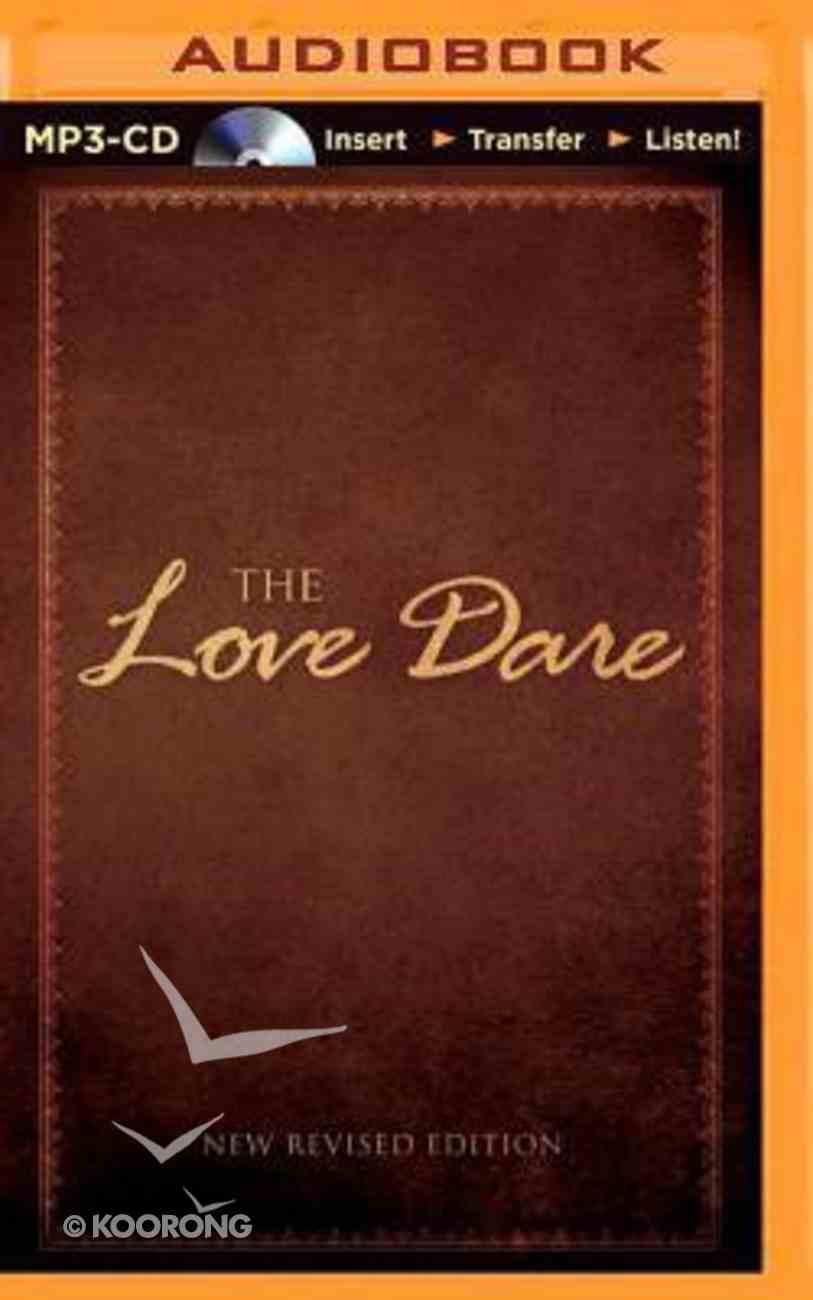 The Love Dare (Unabridged, Mp3) CD