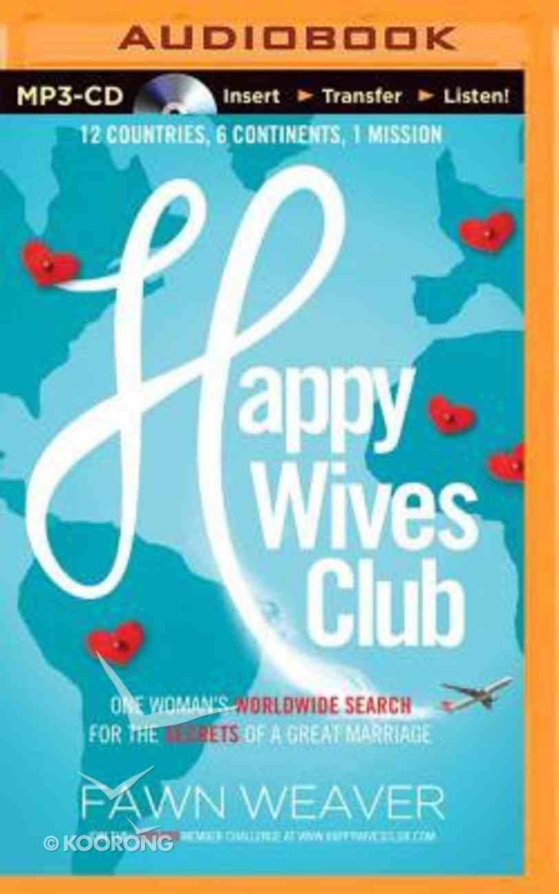 Happy Wives Club (Unabridged, Mp3) CD