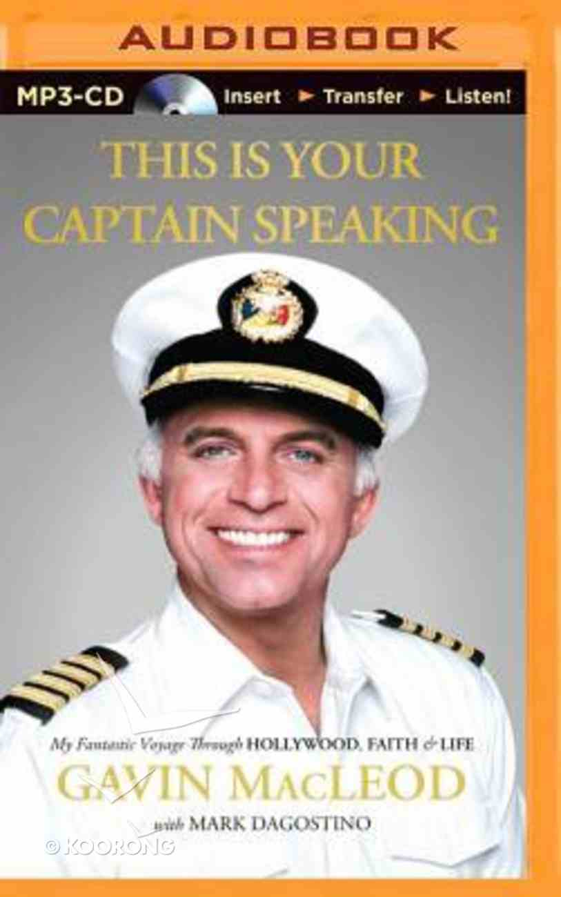 This is Your Captain Speaking (Unabridged, Mp3) CD