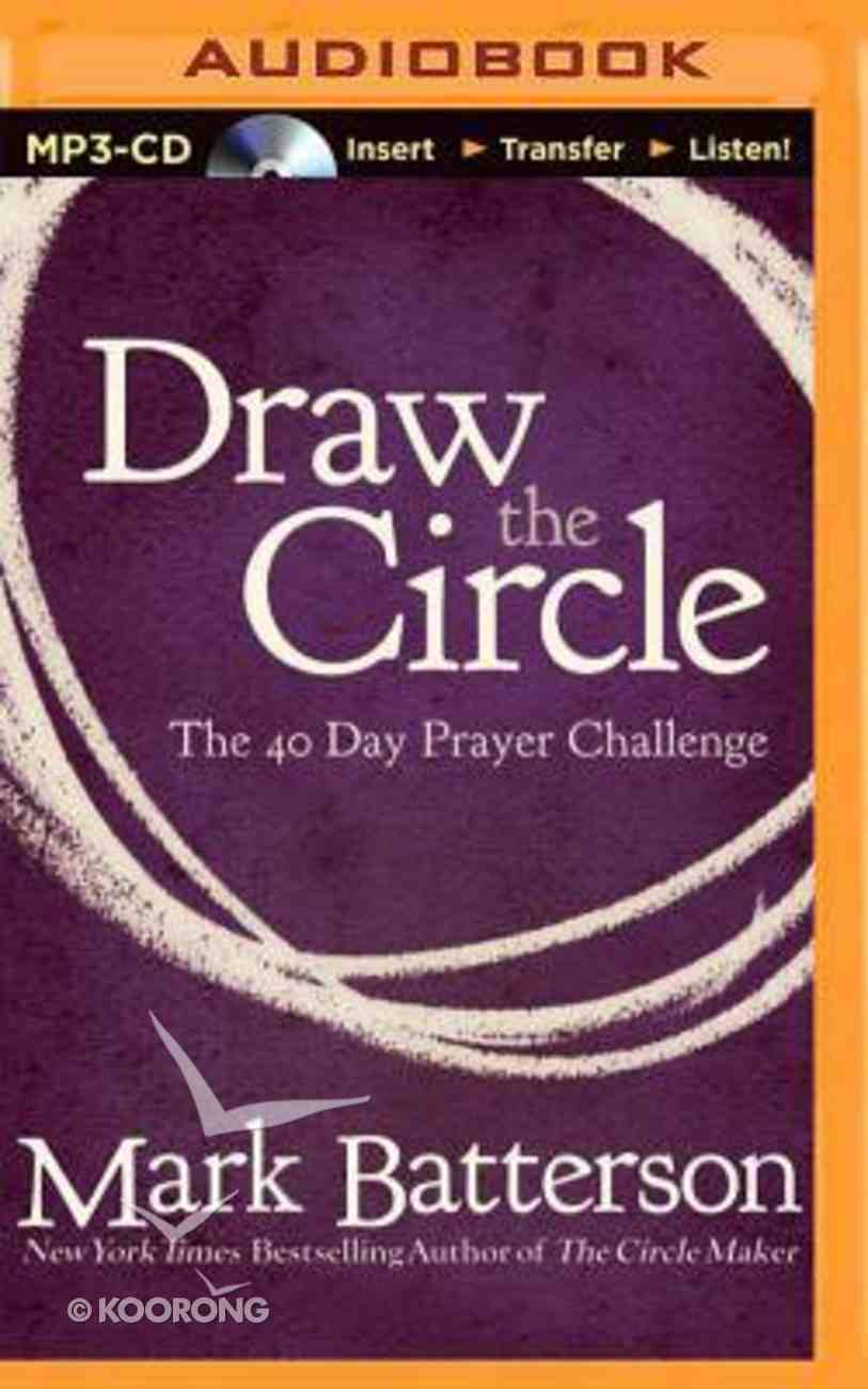 Draw the Circle (Unabridged Mp3) CD