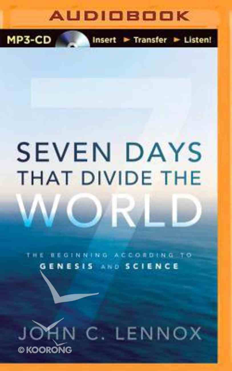 Seven Days That Divide the World (Unabridged, Mp3) CD