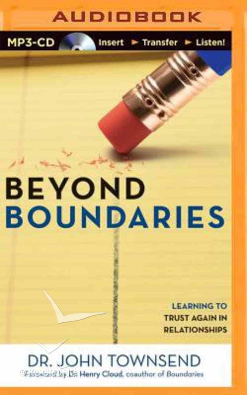 Beyond Boundaries (Unabridged, Mp3) CD