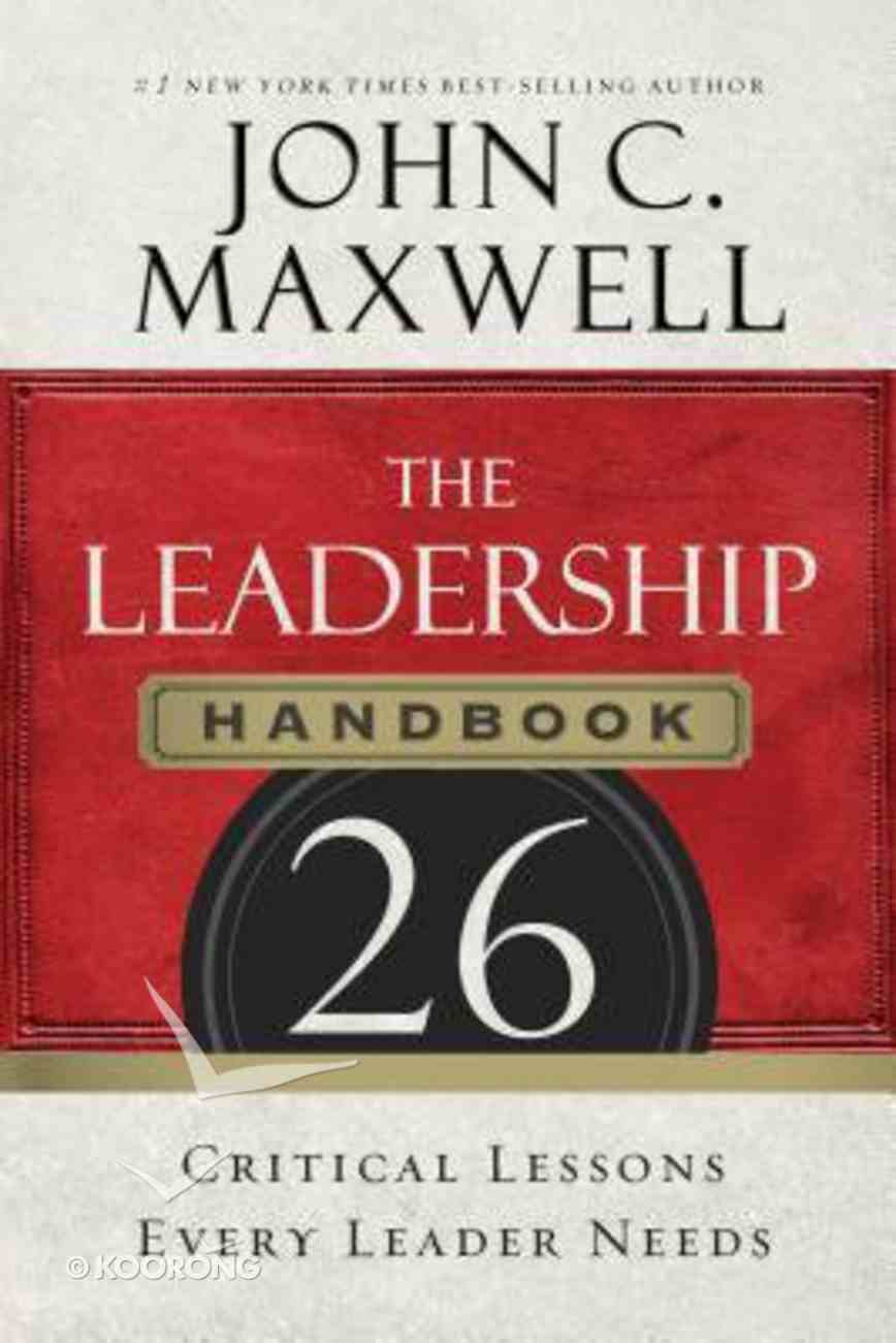 The Leadership Handbook (Unabridged, 8 Cds) CD