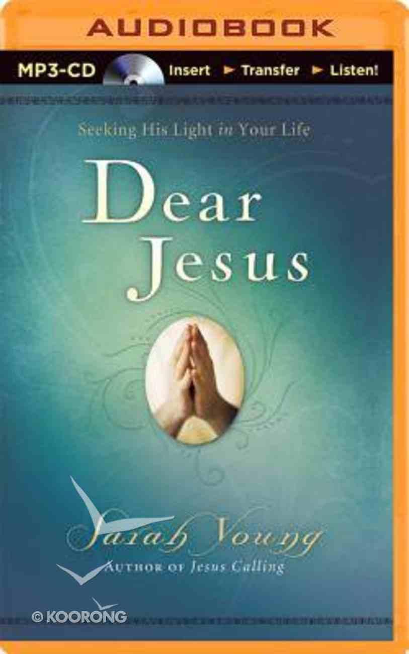 Dear Jesus (Unabridged, Mp3) CD