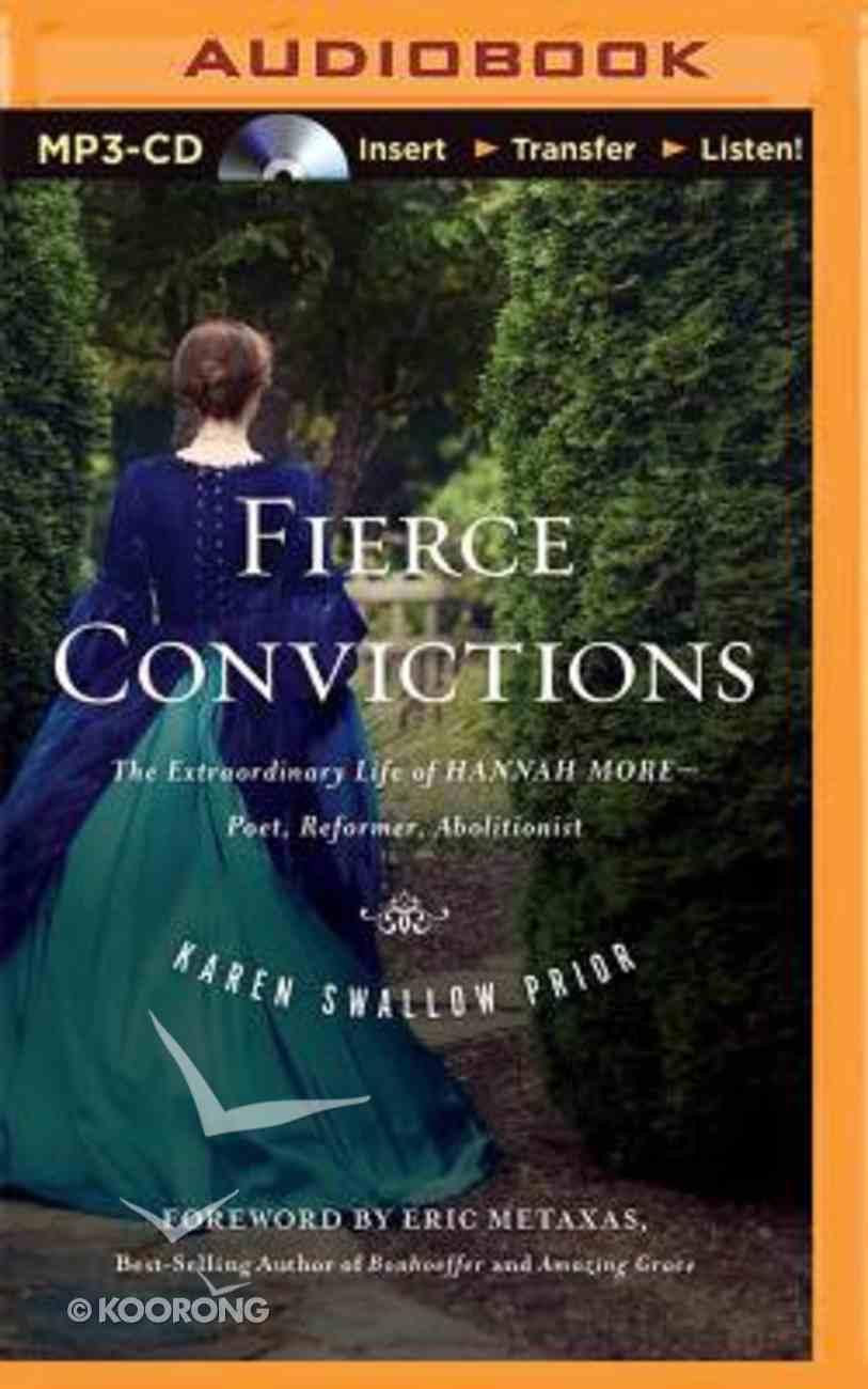 Fierce Convictions (Unabridged, Mp3) CD