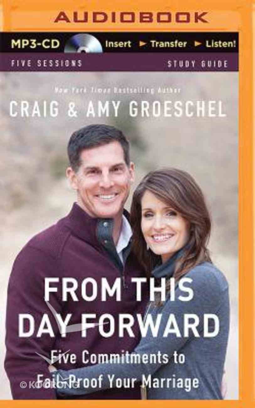 From This Day Forward (Unabridged, Mp3) CD