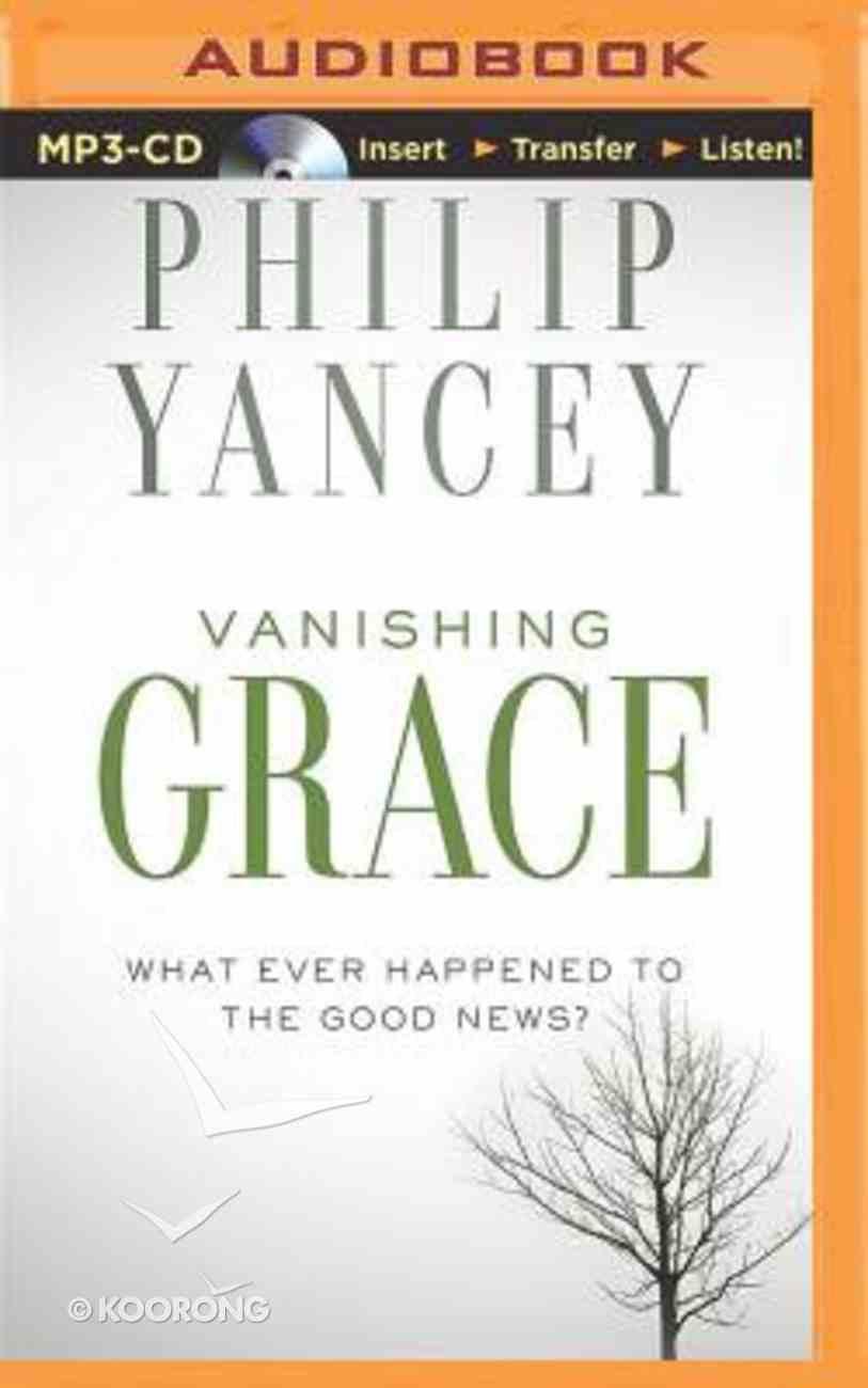 Vanishing Grace (Unabridged, Mp3) CD