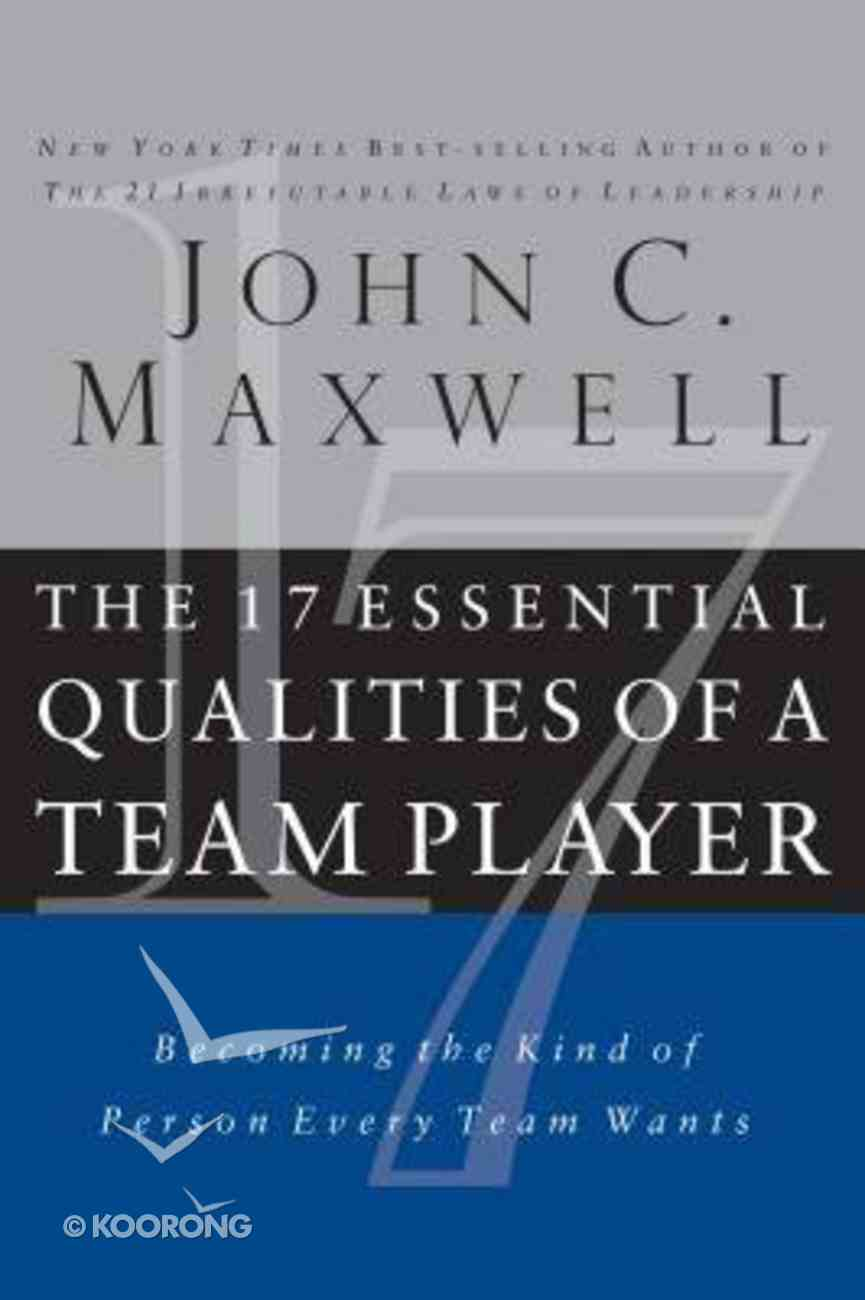 The 17 Essential Qualities of a Team Player (Abridged, 3 Cds) CD