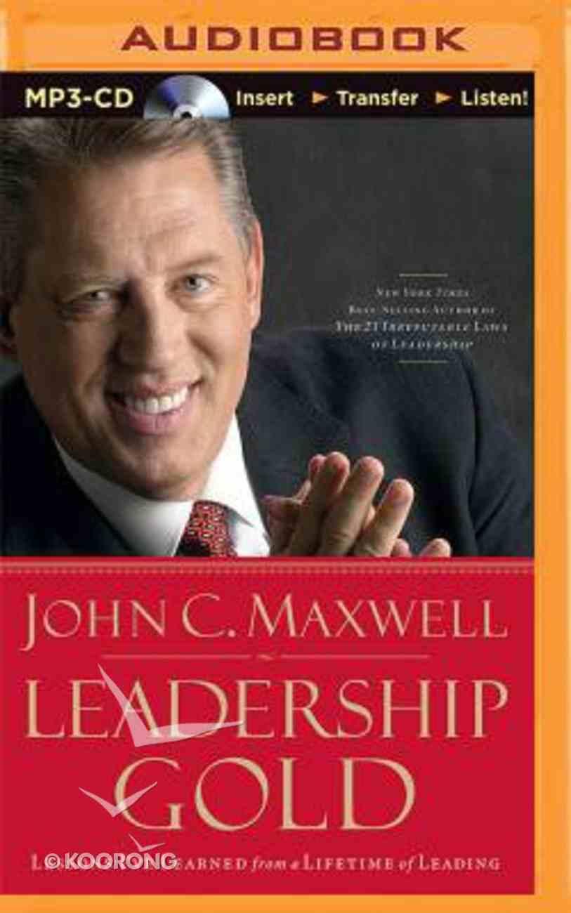 Leadership Gold (Abridged, Mp3) CD