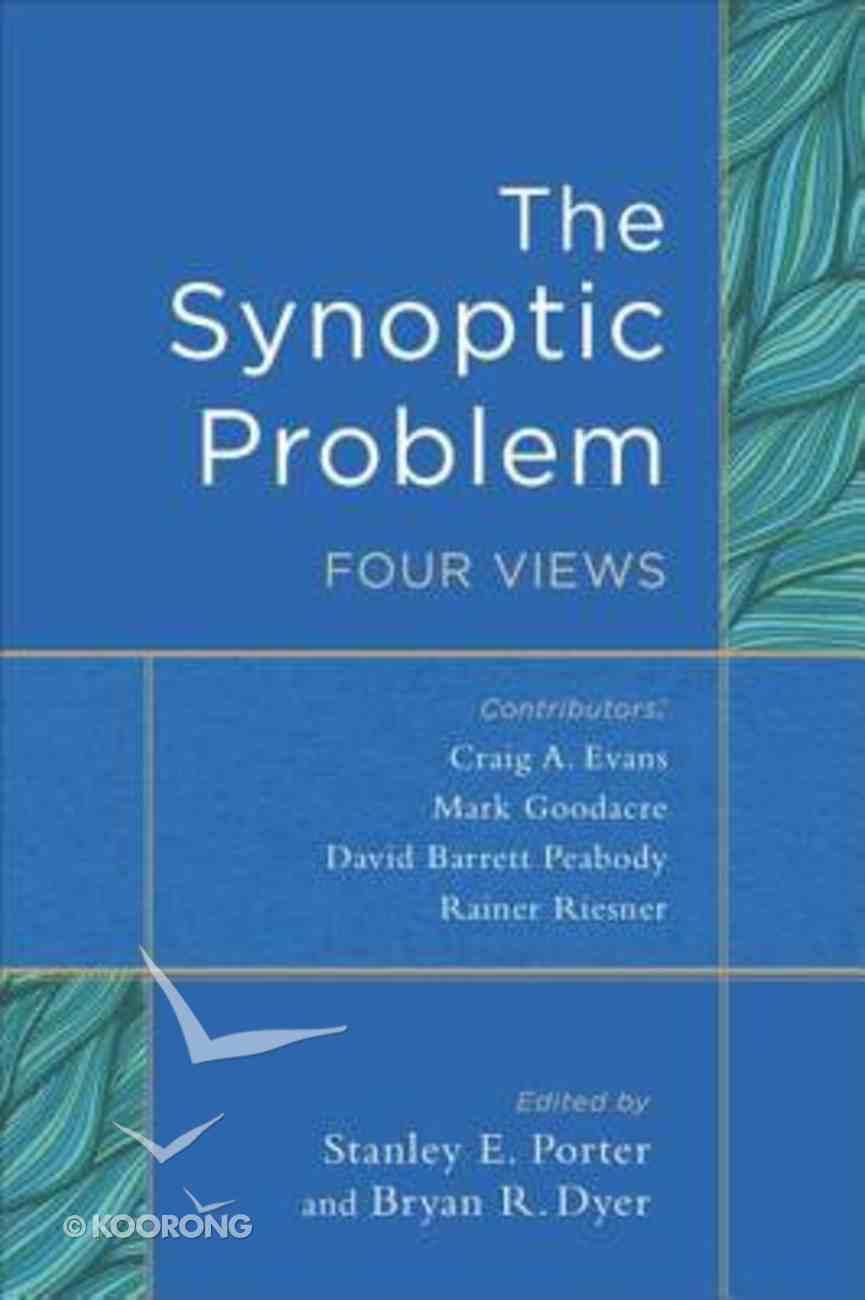 The Synoptic Problem eBook