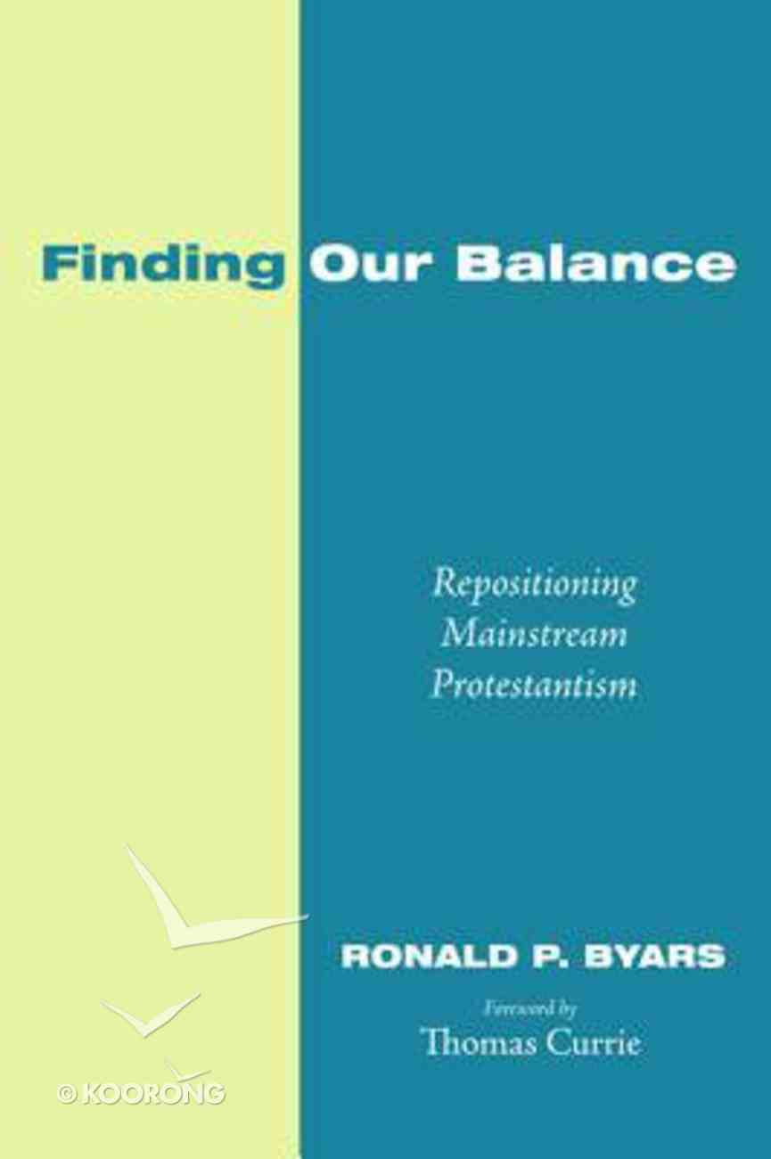Finding Our Balance Paperback