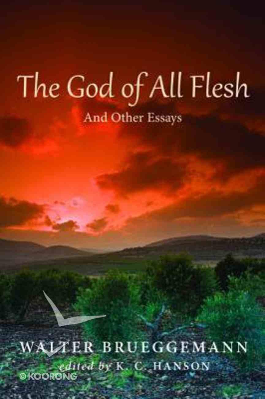 The God of All Flesh Paperback