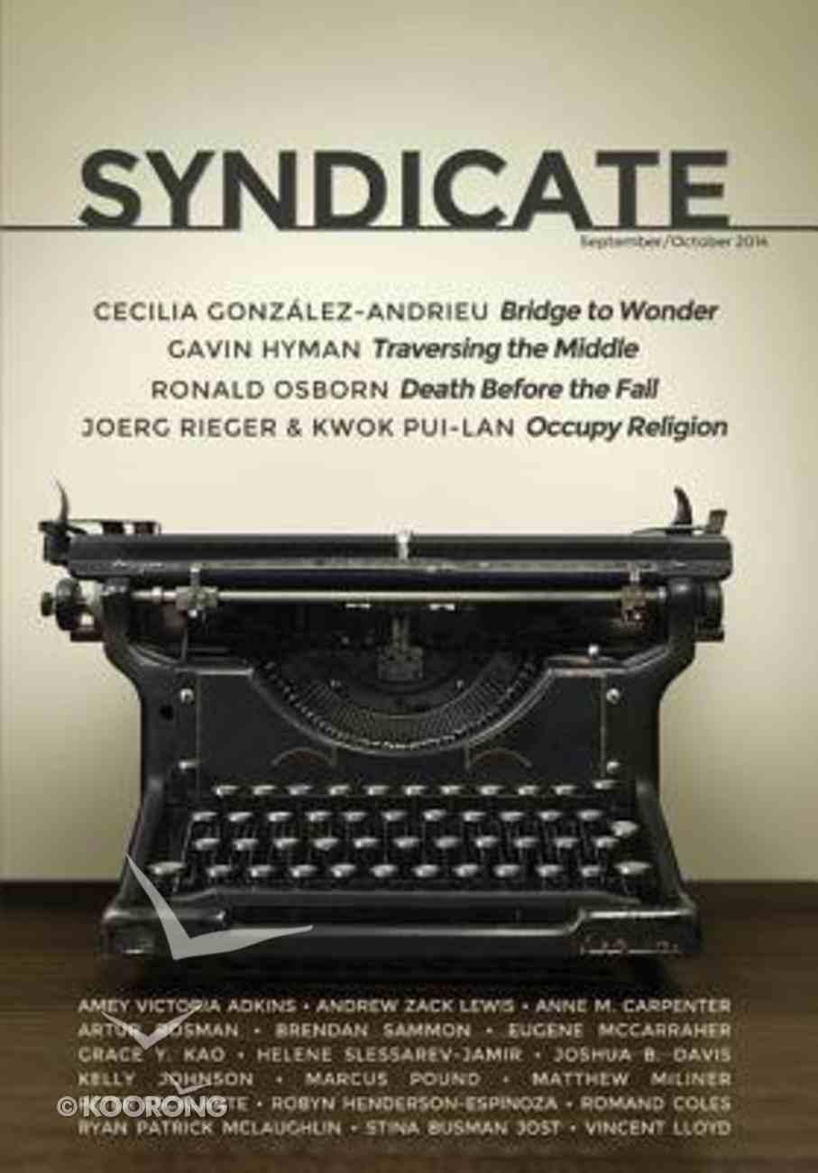 Syndicate: September/October 2014 Paperback
