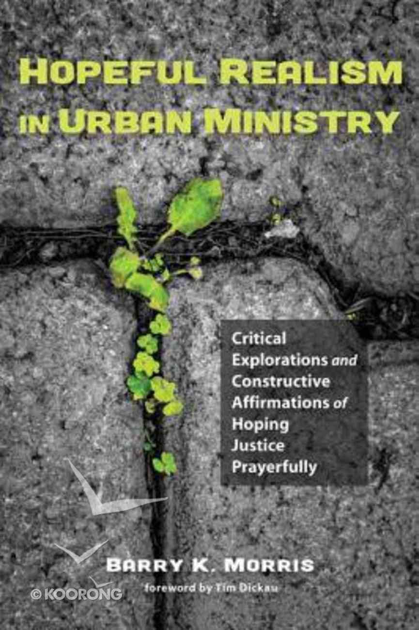 Hopeful Realism in Urban Ministry eBook