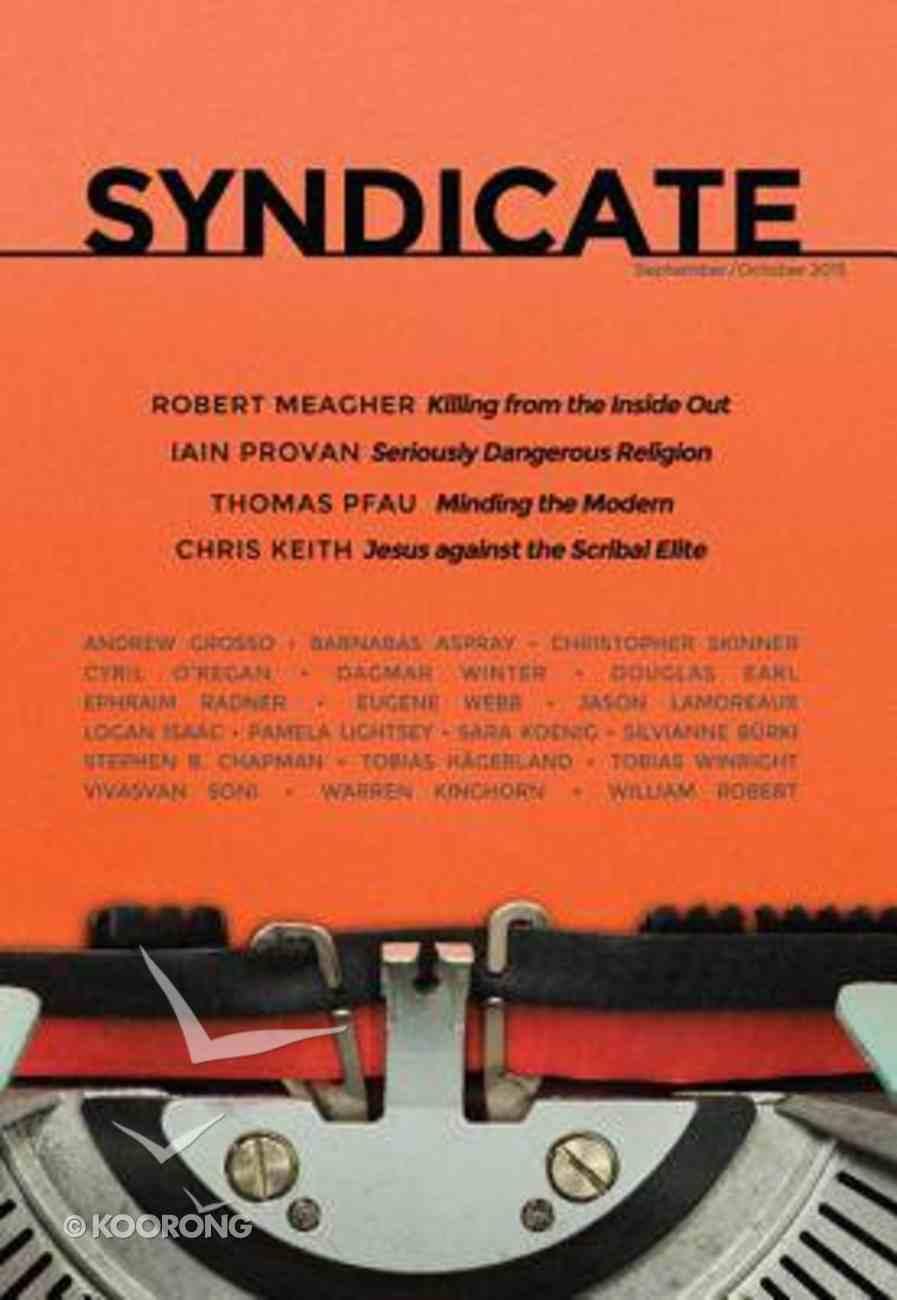Syndicate: September/October 2015 Paperback