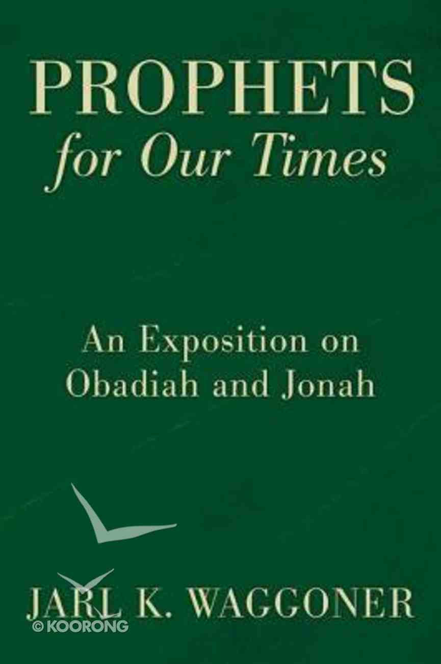 Prophets For Our Time eBook
