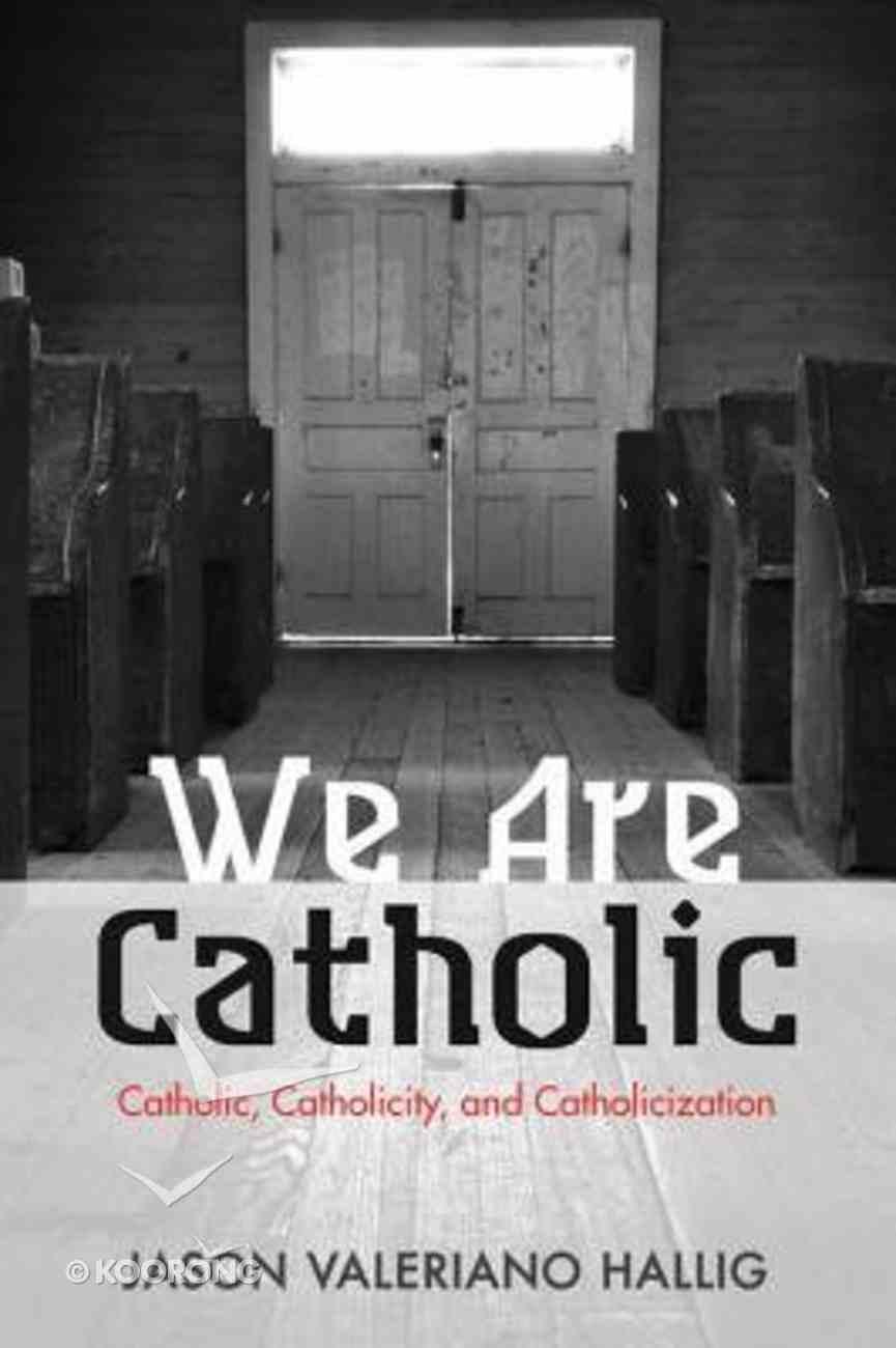 We Are Catholic eBook