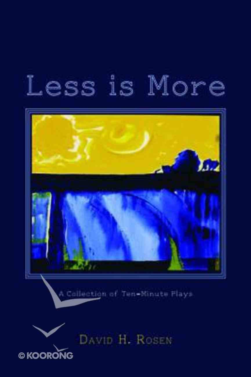 Less is More Paperback