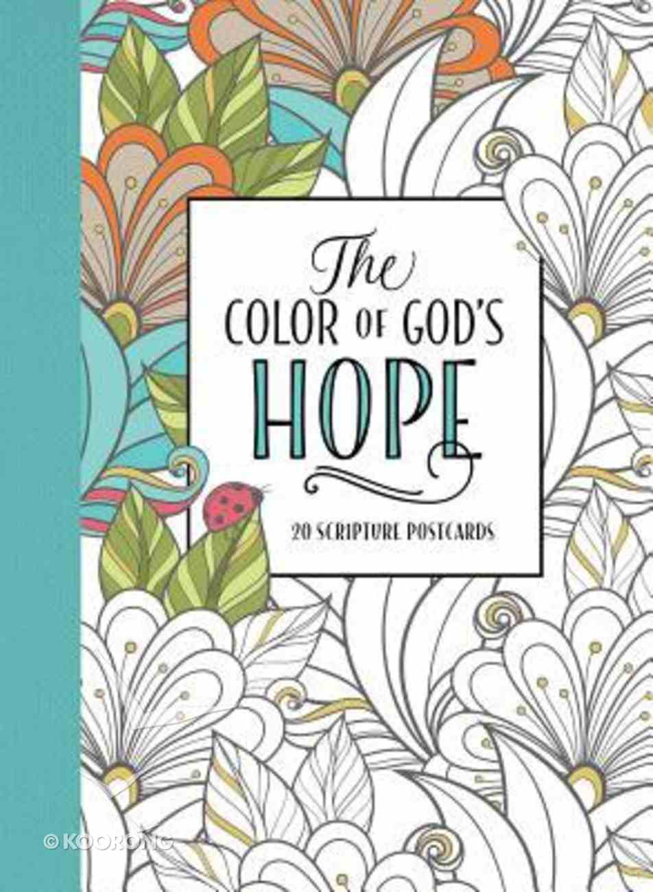 The Color of God's Hope (Adult Coloring Books Series) Paperback