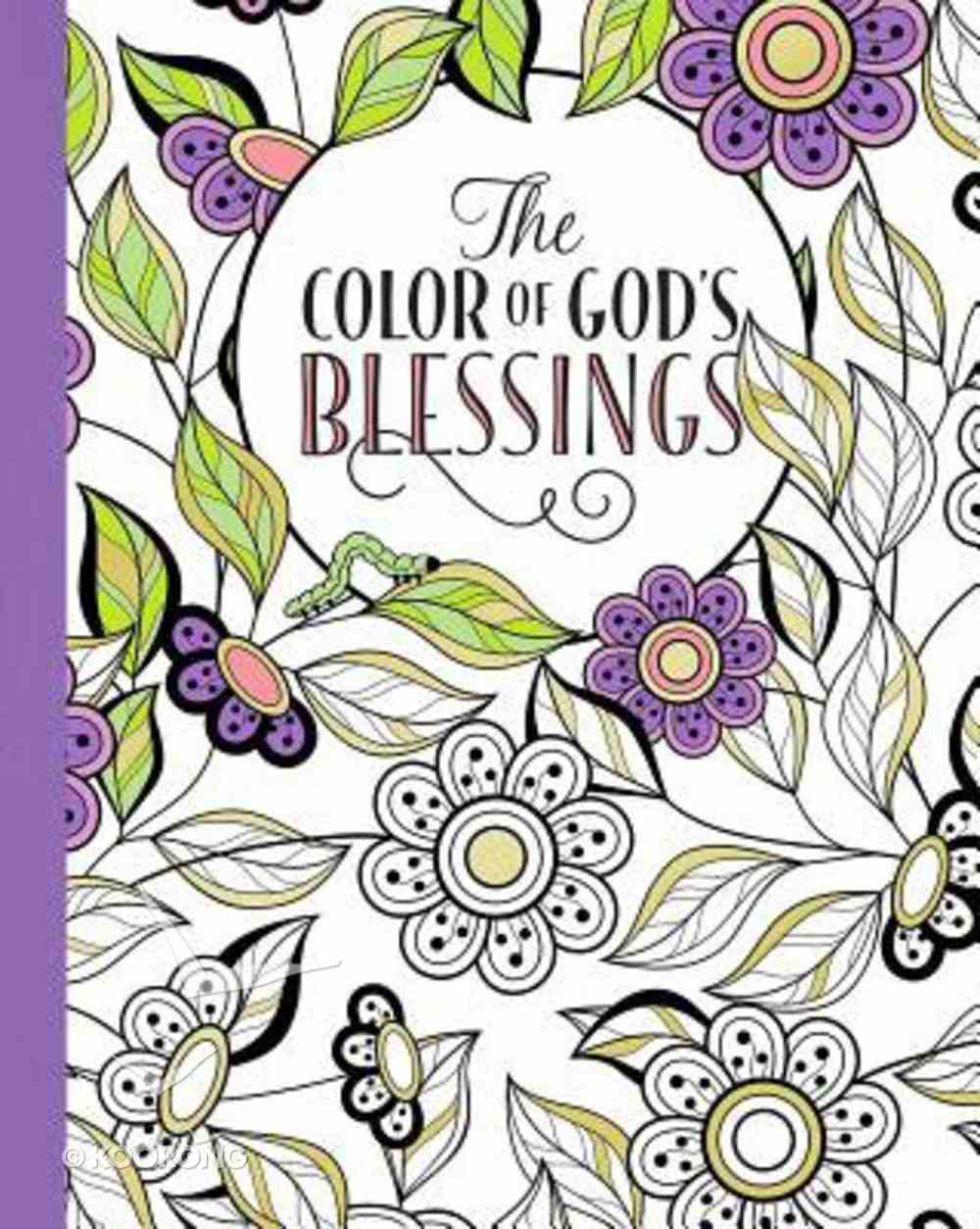 The Color of God's Blessings (Adult Coloring Books Series) Paperback