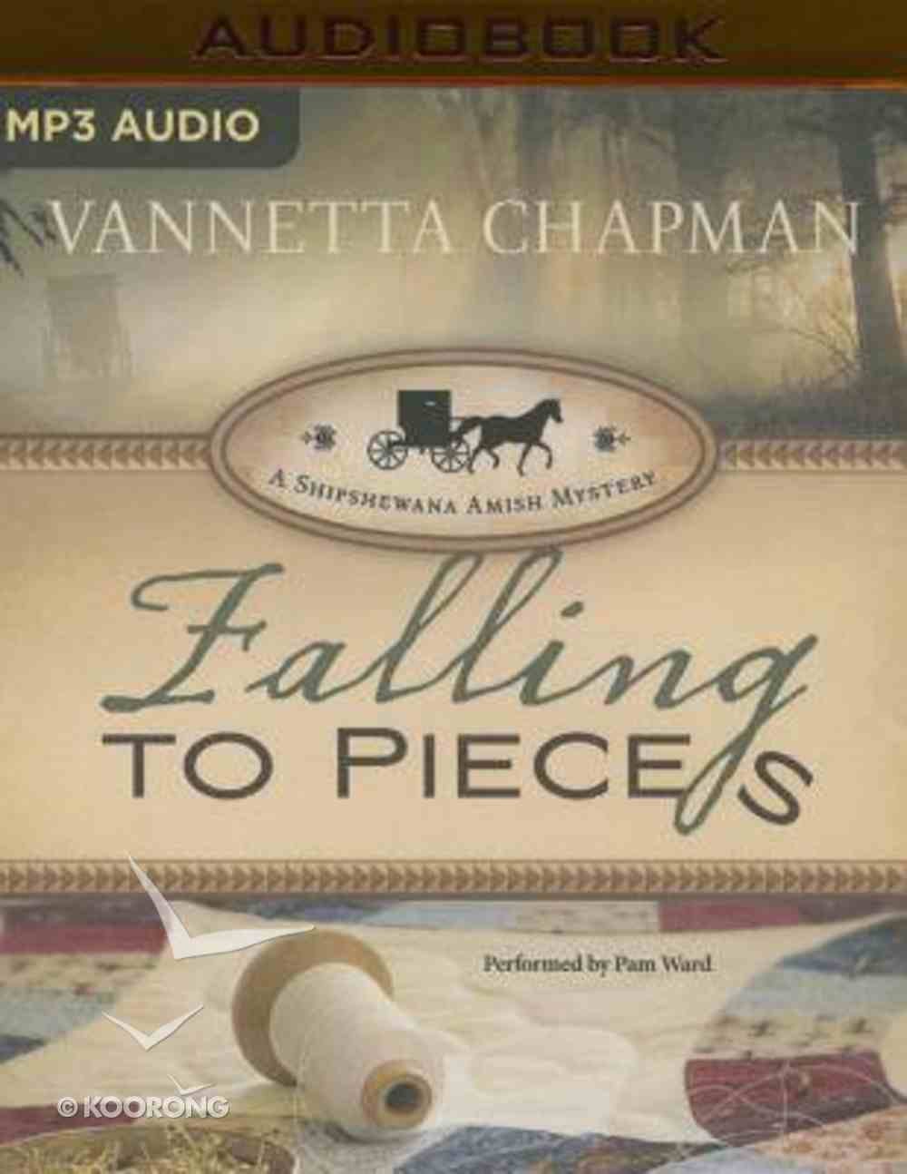 Falling to Pieces (Unabridged, MP3) (#01 in A Shipshewana Amish Mystery Audio Series) CD
