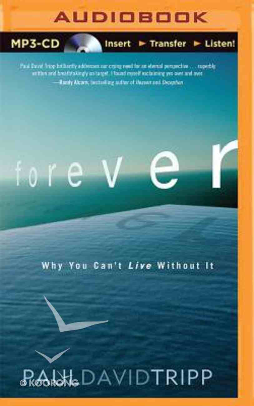 Forever (Unabridged, Mp3) CD