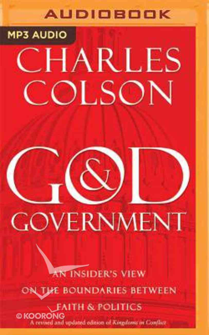 God and Government (Unabridged, Mp3) CD