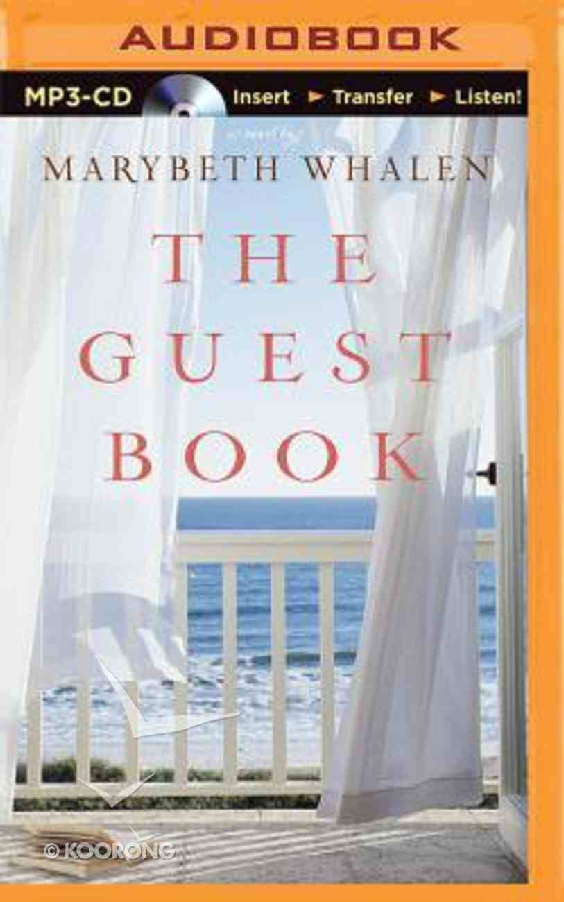 The Guest Book (Unabridged, Mp3) CD