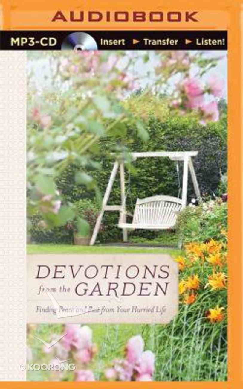 Devotions From the Garden (Unabridged, Mp3) CD