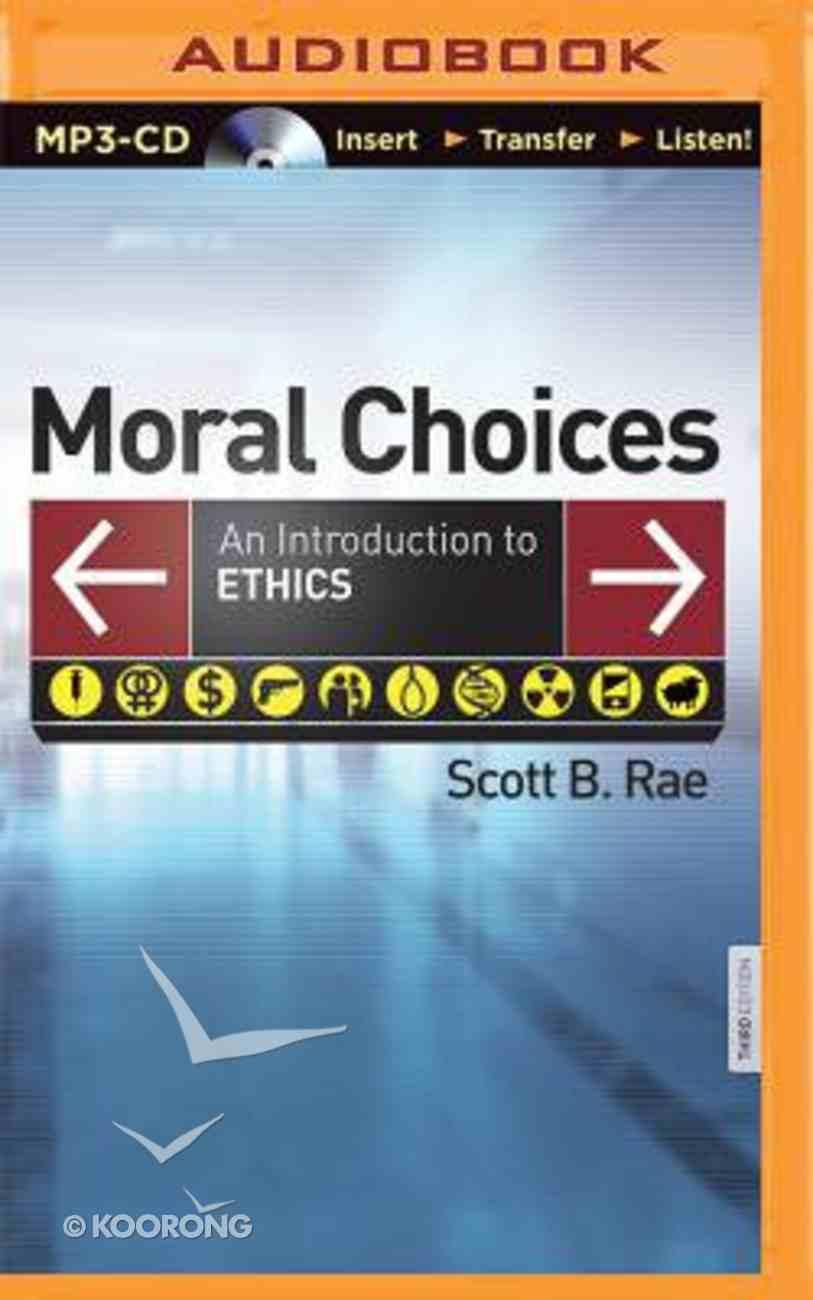 Moral Choices (Unabridged, 2 Mp3's) CD