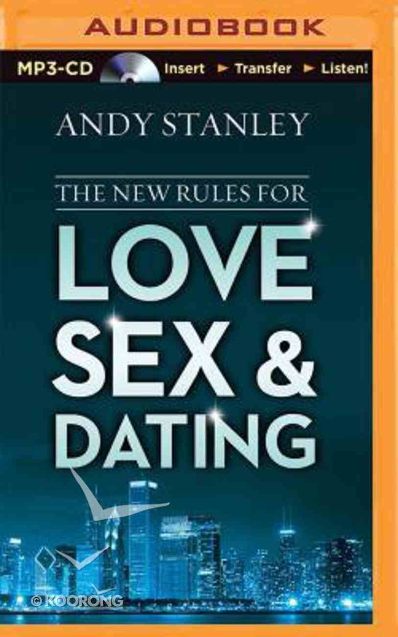 The New Rules For Love, Sex and Dating (Unabridged, Mp3) CD