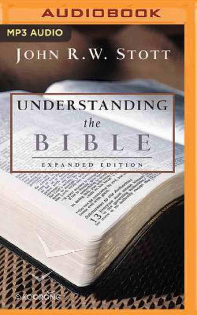 Understanding the Bible (Unabridged, Mp3) CD