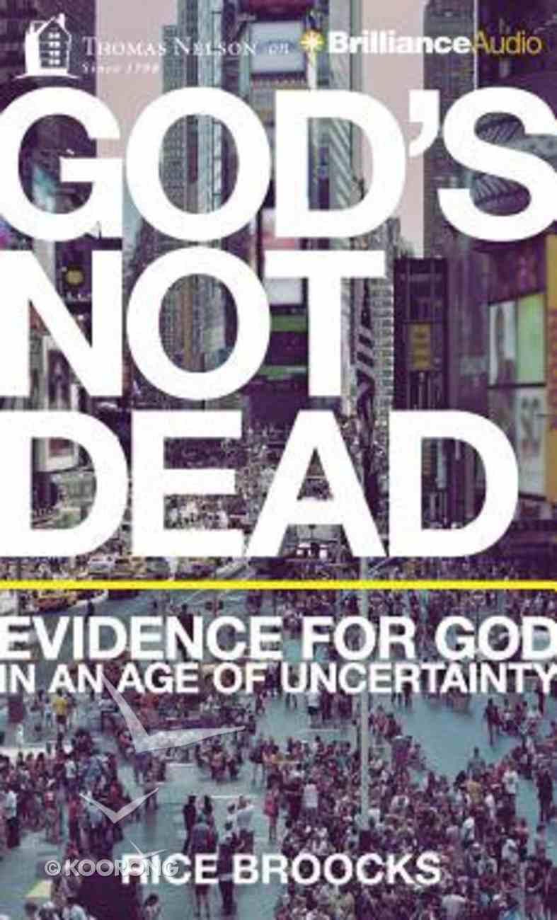 God's Not Dead (Unabridged, 6 Cds) CD
