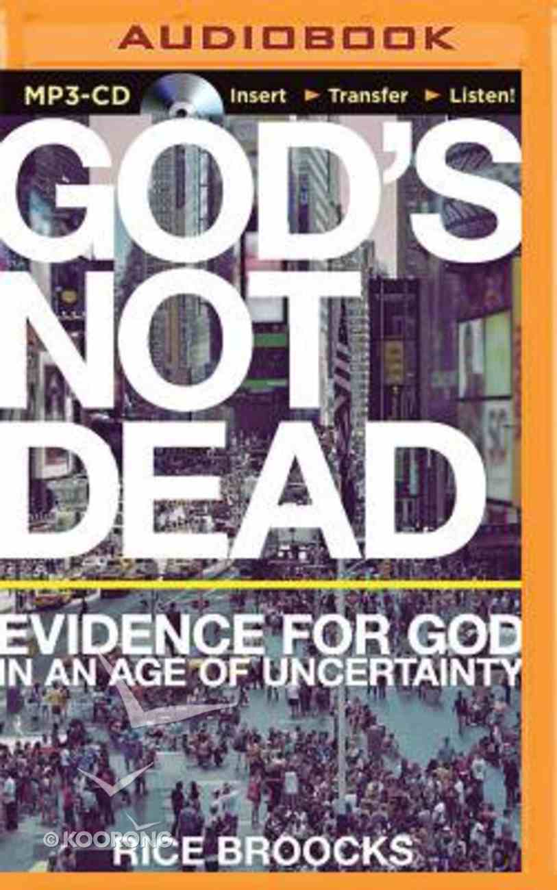 God's Not Dead (Unabridged, Mp3) CD