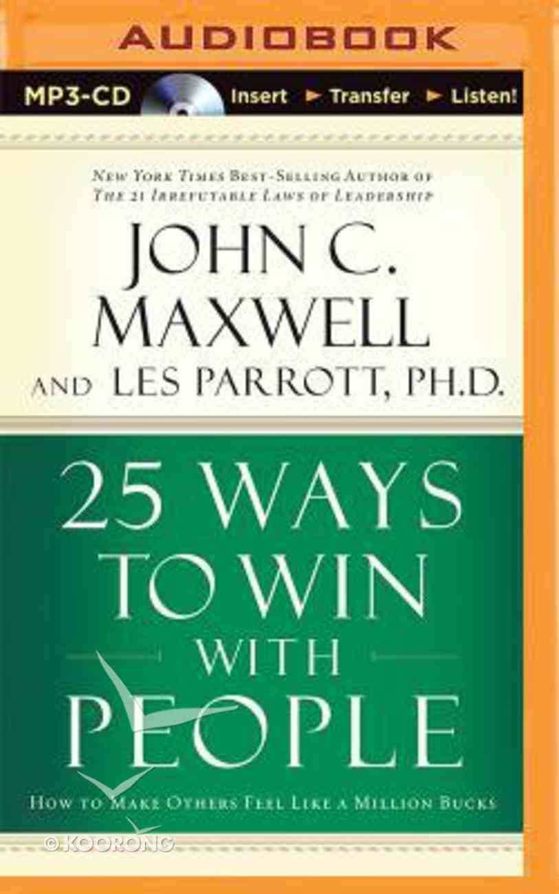 25 Ways to Win With People (Abridged, Mp3) CD