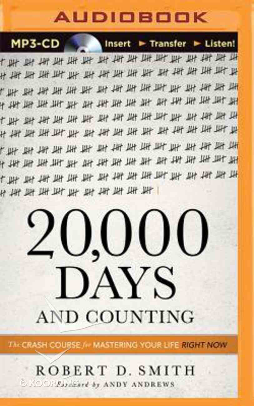 20,000 Days and Counting (Unabridged, Mp3) CD