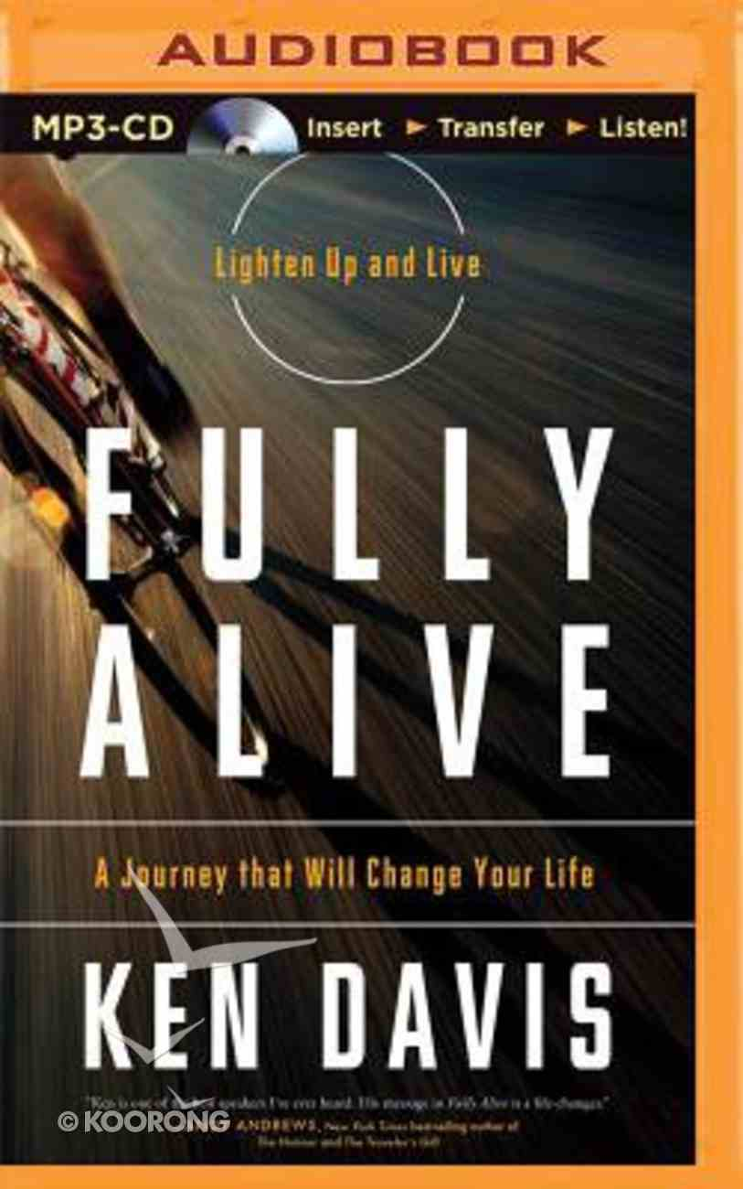 Fully Alive (Unabridged, Mp3) CD