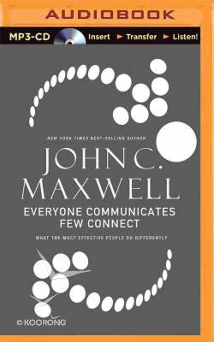 Everyone Communicates, Few Connect (Abridged, Mp3) CD