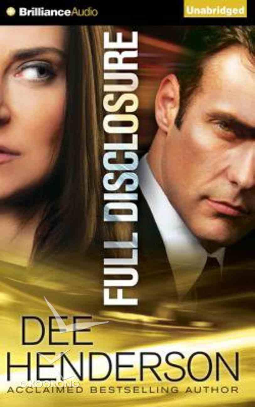 Full Disclosure (Unabridged, 12 Cds) CD
