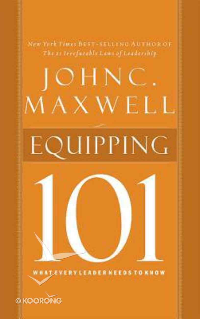 Equipping 101 (Unabridged, 2 Cds) CD