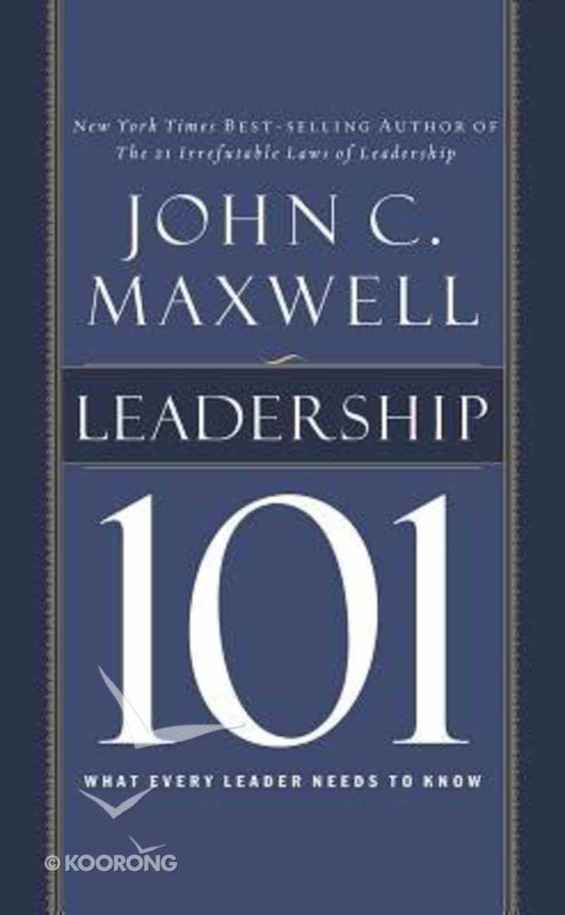 Leadership 101 (Unabridged, 2 Cds) CD
