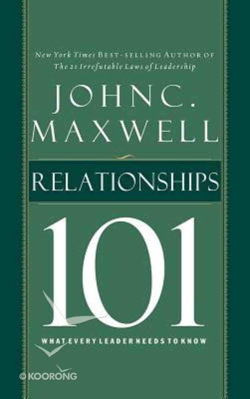 Relationships 101 (Unabridged, 2 Cds) CD