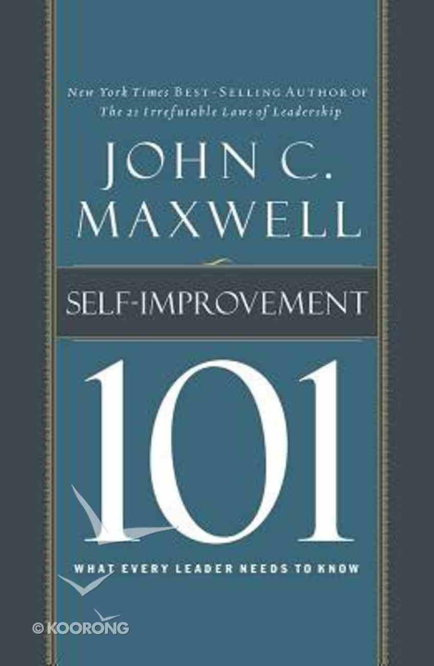 Self-Improvement 101 (Unabridged, 2 Cds) CD