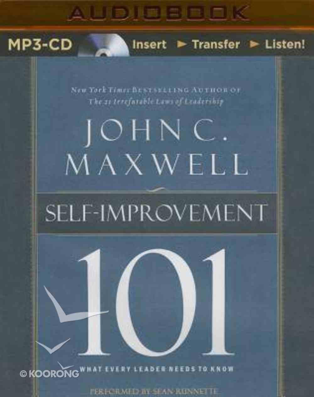 Self-Improvement 101 (Unabridged, Mp3) CD