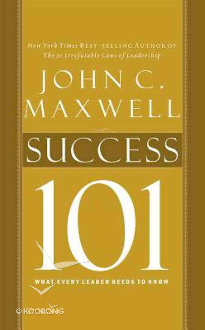 Success 101 (Unabridged, 2 Cds) CD