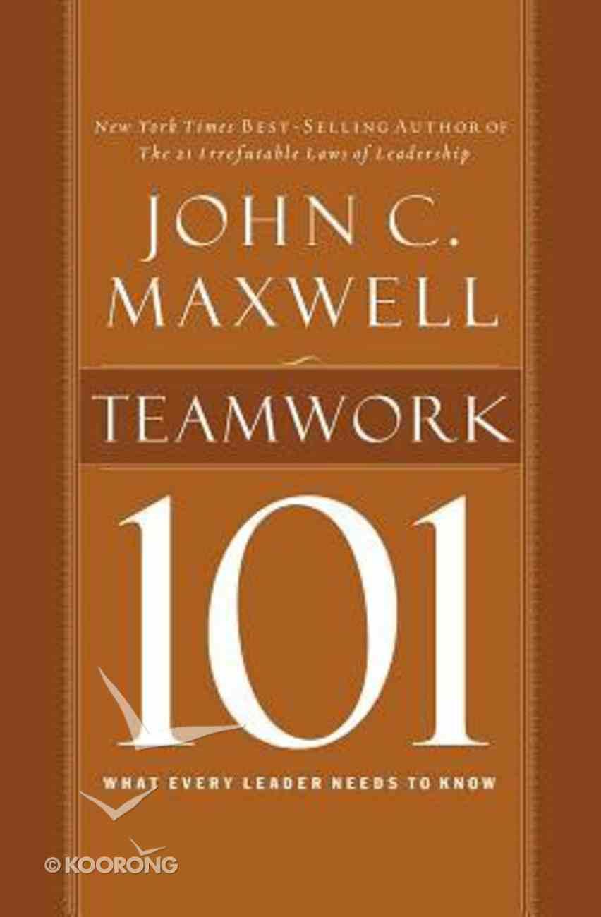 Teamwork 101 (Unabridged, 2 Cds) CD
